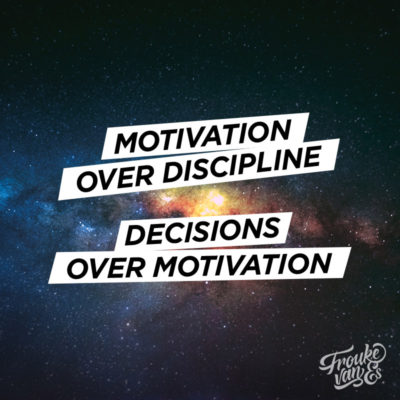 motivation over discipline